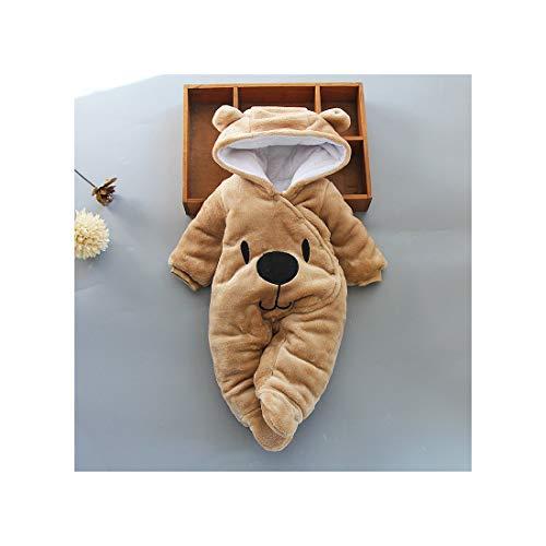 aoliaoyudonggha Baby Jungen Mädchen Strampler Baumwolle Kleinkind niedlich Neugeborene Winterkleidung Gr. 6 Monate, - Creeper Girl Kostüm