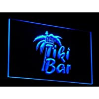 Insegna al neon j008-b OPEN Tiki Bar NEW Light Signs - Neon Open Bar
