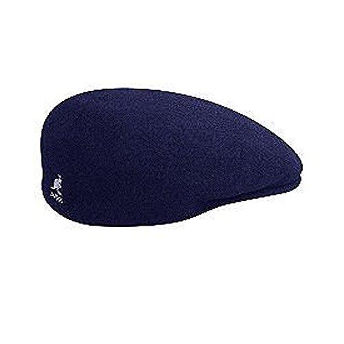 Kangol Herren Schirmmütze Blau Navy (Kangol Player Wool)