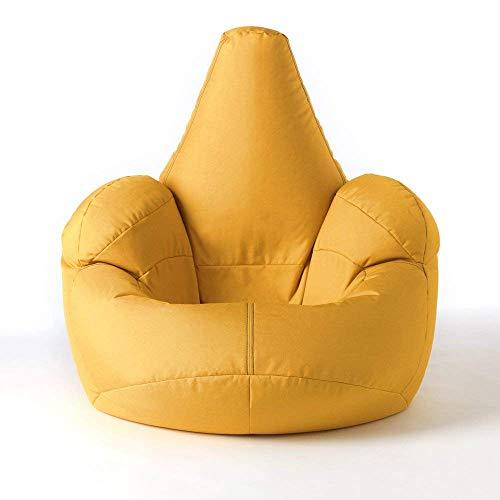icon Großer Armsessel Sitzsack- Großer Luxussitzsack Gelb