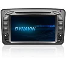 Dynavin–DVN MC2000Mercedes D99+ navigazione–nachruest dispositivo per Mercedes Classe CLK (W209), VITO (W639), Viano (W639) CLASSE C (W203), DAB + preparato
