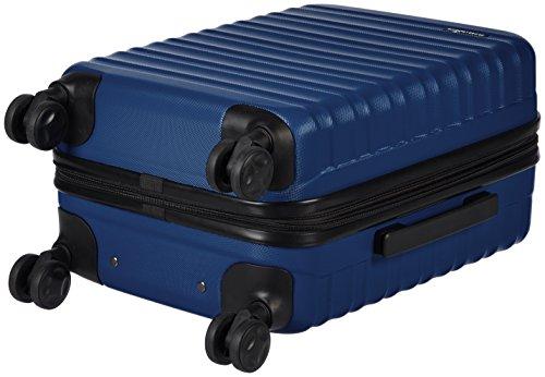 AmazonBasics Hartschalenkoffer - 56 cm Kabinengröße, Marineblau - 5