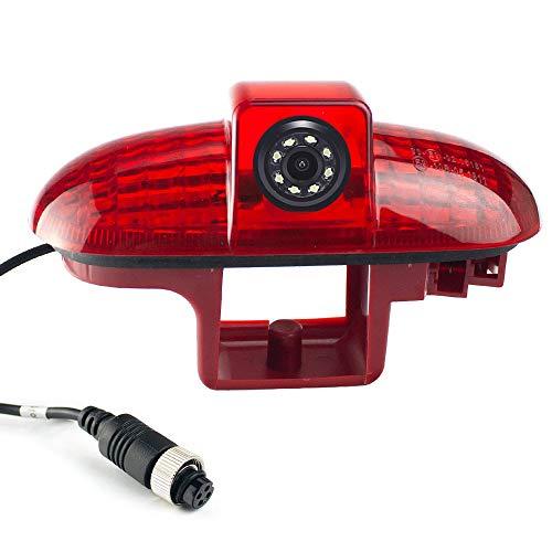 HD Voiture caméra de recul système d'Inversion la lumière de Frein en 3.Bremslicht caméra Vue arrière pour Opel Vivaro Concept Surf/Life/Combo/Vauxhall/Renault Trafic/Fiat Talento/Nissan Primastar
