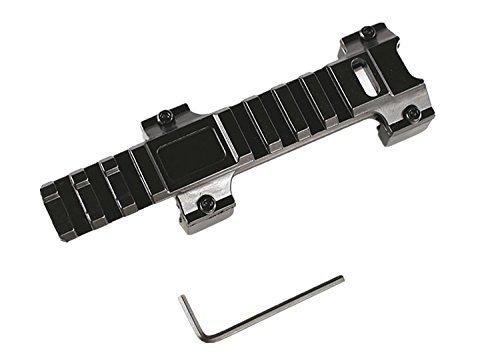 FIRECLUB MP5/G3/MP5K 20mm Montageschiene Luftgewehr Weaver Picatinny Schiene Verlängerung Erhöhung Zielfernrohr Montage länge 127mm -