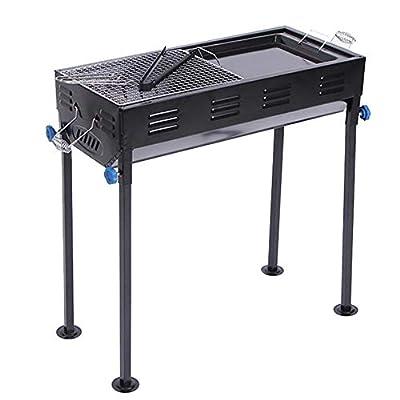 Wangkai Barbecue Outdoor-Grill Hochtemperatur-Stahl-Lackmaterial Faltbar Leicht zu Tragen