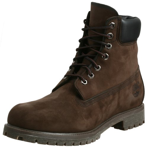 Timberland 6-Inch Premium Waterproof, Bottes Classiques Homme Dark Brown