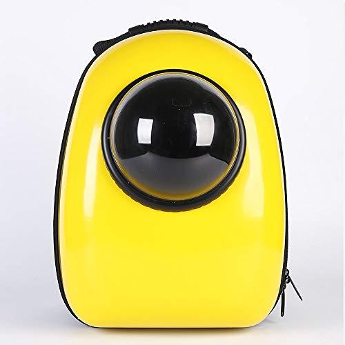 XiaoZou Zaino Portatile da Viaggio Zaino Space Capsule Bubble Cat Space Backpack Zaino Tote Impermeabile Borsa for Gatto Traspirante Trasportino for Cani