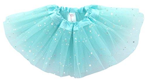 dancina-baby-tullrock-tutu-ballettrock-glitzer-sterne-hellblau-one-size