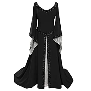 BIBOKAOKE Vestido maxi para mujer