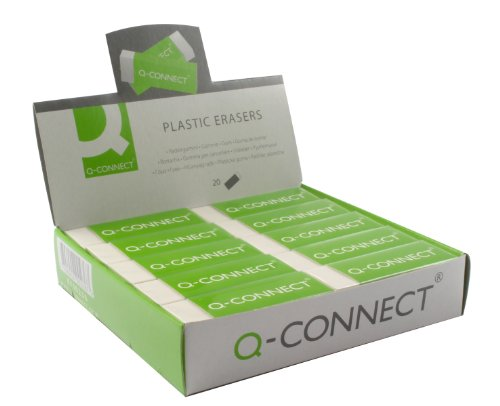 q-connect-pvc-eraser-kf00236-white-pack-of-20