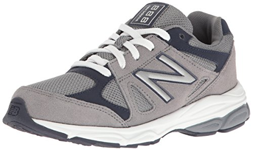 New Balance Kids KJ888 Running Shoe Grey/Navy