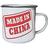 Nuevo Hecho En El Sello De China Retro, lata, taza del esmalte 10oz/280ml m239e