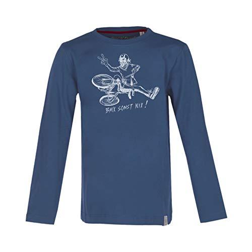Band of Rascals Kinder T-Shirt Langarm BMX Longsleeve aus Bio-Baumwolle (Shirt Knaben Langarm)