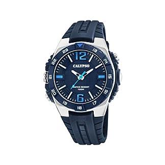Calypso Watches Reloj Analógico para Hombre de Cuarzo con Correa en Plástico K5778/3