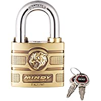 Mindy con chiavi in lega di zinco Keyed different Padlock, 1-pack, A16 – 60
