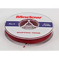 Marlow No. 4 Marine Whipping Twine - 41m / 134ft (Red)