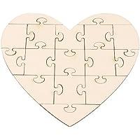 Puzzle Herz, DIY Puzzle, Herzpuzzle zum Bemalen Puzzle Herz, DIY Puzzle, Herzpuzzle zum Bemalen