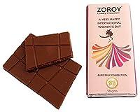 Zoroy Luxury Chocolate 2 Gift Bar Set- Happy International Women's Day - 116gms