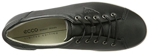 Ecco ECCO SOFT 2.0, Derby femme Grau (1602DARK SHADOW)