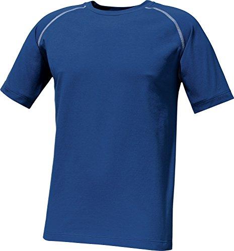 Schneider Herren T-Shirt Single-Jersey blau Größe 52 -