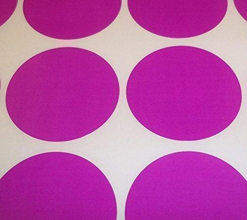 Audioprint Ltd. Packung Mit 60 Stk. Rund Farben Code Punkte Blanko Preis Aufkleber Selbstklebeetiketten - Lila, 45mm