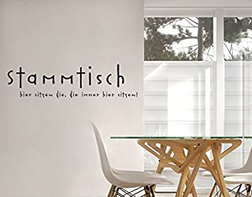Wandtattoo No.SF686 Stammtisch Stammtisch möbel sprüche ...