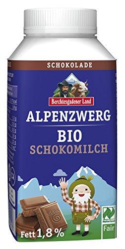 Berchtesgadener Land Bio Alpenzwerg Schoko-Milch, 250 g