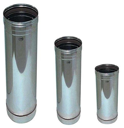 Tubo per Stufa in acciaio inox Piemme Speedy art. 01 Ø x altezza 250 x 250 mm