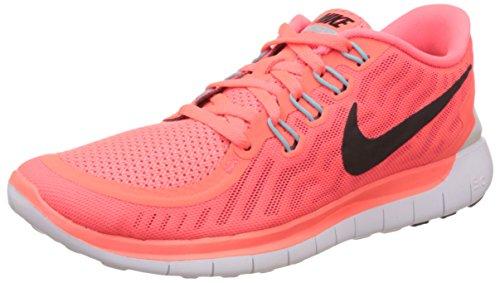 Nike Free 5.0, sneaker femme Multicolore (Hot Lava/Black Lava/Glow Bright Crimson)