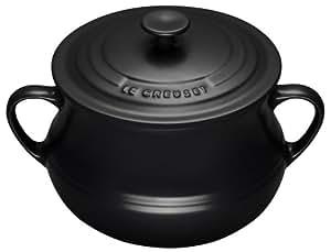 Le Creuset Grande soupière en céramique Noir 4 litres