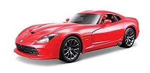 Maisto- Dodge Viper 2013, Color Rojo (31128R)