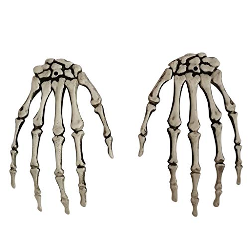 Oyedens Halloween Skelett Haunted House Horror Dekoration Requisiten Raumflucht Geist Handhexe Krallen Handskelette - Hexen Halloween Party Home Decoration Handknochen Horrid Scare Scene - Machen Sie Ihre Eigene Zombie Kostüm