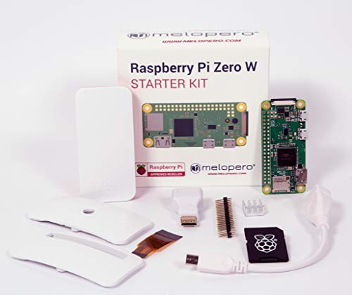 Raspberry Pi Zero W Complete Kit (Includes a 16GB MicroSD with Raspbian)