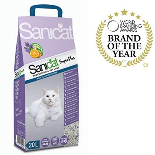 SANICAT Superplus Arena Absorbente de Gatos - 20L