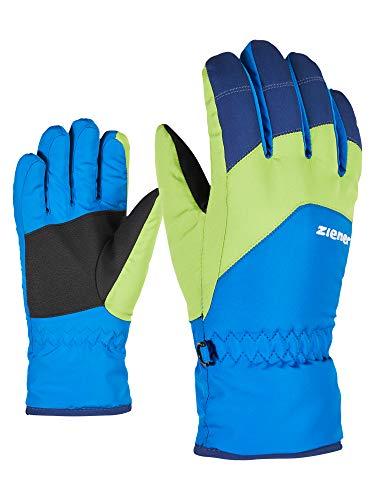 Ziener Kinder LANDO glove junior Ski-handschuhe/Wintersport, persian blue, 7