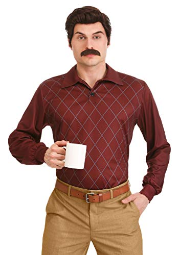Ron Swanson Fancy Dress Costume Parks and Recreation - Parks And Recreation Kostüm
