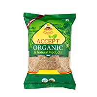Accept Organic Cumin Seeds/Jeera 0.5 KG Pack of Healthy & Organic Spice