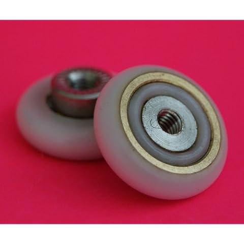 4 cuscinetti a sfera per box doccia, 19 mm, diametro
