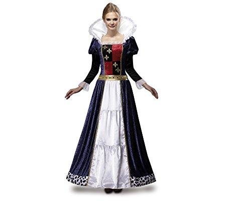 m Königin mittelalterlichen de Luxe für Frauen, Größe L (Mittelalterliche Krone)