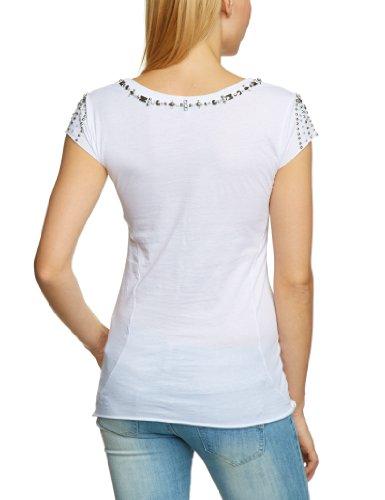 Shivadiva - T-shirt - Manches courtes Femme Blanc - Blanc