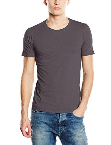 Stedman Apparel Herren T-Shirt Clive (Crew Neck)/st9600 Premium Grau - Slate Grey