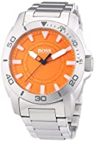 Reloj Boss Orange Big Day 1512947 de cuarzo para hombre, correa de acero inoxidable color plateado de Boss Orange