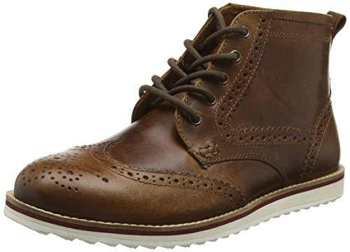Red Tape Horwood, Bottes Chukka homme Brown (Milled Tan)