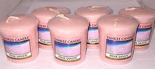 YANKEE CANDLE 'Pink Sands', Candele profumate, 12 Pezz
