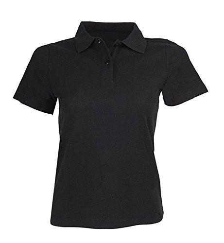HKM femmes Stedman Polo pour Homme - - - black