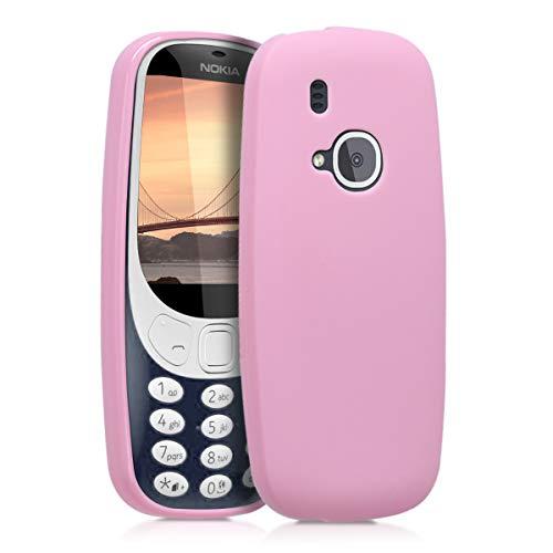 kwmobile Nokia 3310 (2017) Hülle - Handyhülle für Nokia 3310 (2017) - Handy Case in Altrosa matt