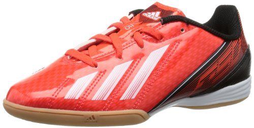adidas F10 Indoor Q33860, Scarpe da calcio donna rosso (Red - Red (Infrared / Running White ftw / Black 1))