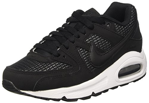 Nike Damen Women's Air Max Command Shoe Laufschuhe, Schwarz Black/White 091, 42 EU