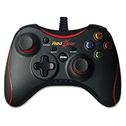 Redgear Pro Series Wired Gamepad Plug and Play support for all PC games supports Windows 7 / 8 / 8.1 / 10