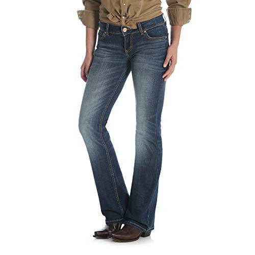 Wrangler Women's Retro Sadie Low Rise Stretch Boot Cut Jean - Wrangler Low Rise